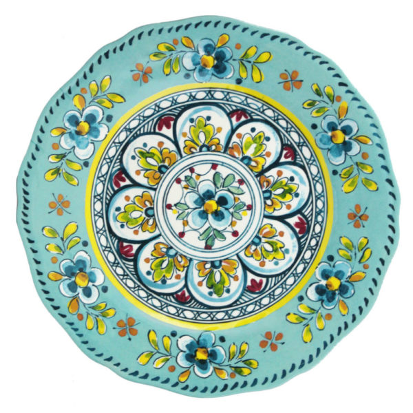 Madrid Turquoise Collection Platter