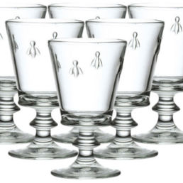 La Rochere French Glassware. Sold by Clay & Cotton Kirkwood.