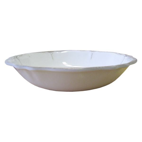 Rustica White Collection Salad Bowl