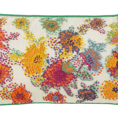 French Knot Pillow by Company C. Sold by Clay & Cotton Kirkwood