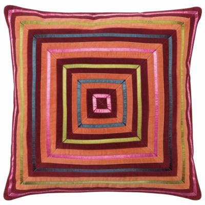 Company C Zoe Pillow Burgundy