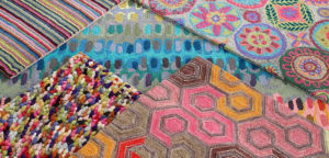 Dash & Albert Rug Samples Collage