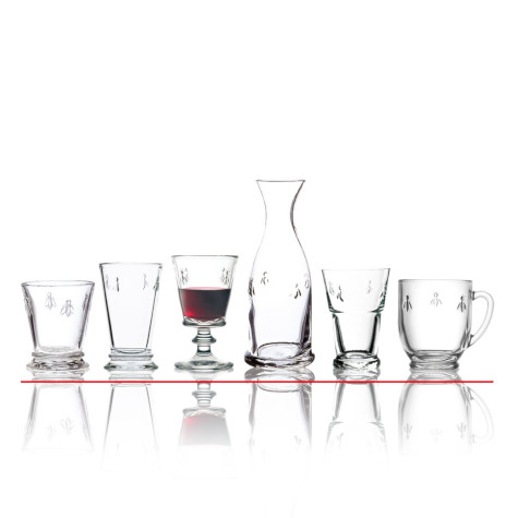 La Rochere Glassware Collage