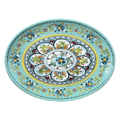 Madrid Turquoise Serving Platter