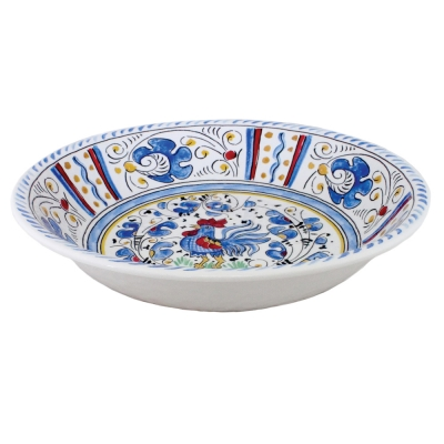Rooster Blue Collection Salad Bowl