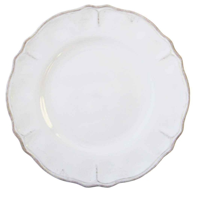 Rustica White Collection Plate